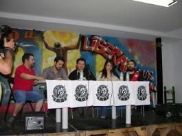 Mesa de participantes en la presentación de la RSP Pte Vallekas