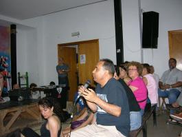 Intervenciones del público asistente a la presentación de la RSP Pte Vallekas