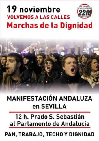 Cartel Marchas
